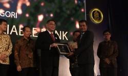 PT Bank BNI Syariah meraih penghargaan The Most Reliable Bank dan The Most Efficient Bank kategori Perbankan Syariah dalama ajang penghargaan Indonesia Banking Award (IBA) 2017.