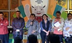 Puan Maharani usai Rapat Persiapan Pelaksanaan Asian Games 2018 di Kantor KOI - Building FX Plaza Office Lantai 19, Senayan, Jakarta, Sabtu (25/3/2017).