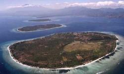 Pulau Gili Trawangan, Lombok, Nusa Tenggara Barat.