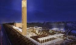 Rencana Pembangunan Masjid Agung Aljir