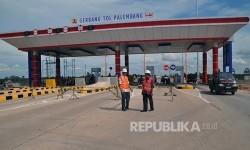 Ruas jalan tol Seksi I Trans Sumatera Palembang – Indralaya (Palindra).