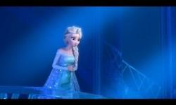 Salah satu karakter putri dalam film animasi Disney, Elsa.