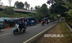 Suasana lalu lintas di Lingkar Gentong, Tasikmalaya (ilustrasi)