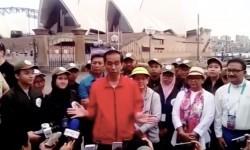 Jokowi Berikan Wawasan Dunia kepada Pemuda