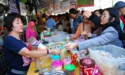 Pasar kuliner Ramadhan