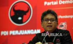 Sekjen Partai Demokrasi Indonesia Perjuangan (PDIP) Hasto Kristiyanto.