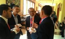 Sekretaris Menteri Pemuda dan Olahraga, Gatot S Dewabroto (kedua dari kanan).