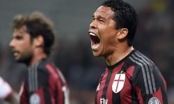 Striker AC Milan, Carlos Bacca.