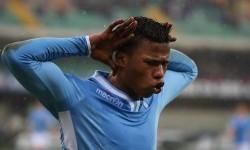 Striker Lazio, Keita Balde Diao.
