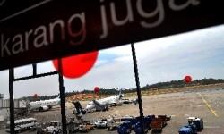 Suasana Bandara Hang Nadim, Batam.