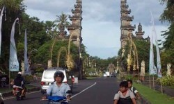 Suasana Nusa Dua Bali  (ilustrasi)