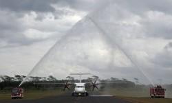 [ilustrasi] Pesawat milik maskapai Wings Air di Bandara Notohadinegoro, Ajung, Jember, Jawa Timur.
