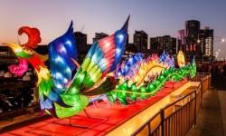 Tahun Baru Imlek di Melbourne.