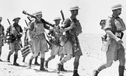 Tentara Italia saat menginvasi Mesir ketika Perang Dunia II (Ilustrasi)