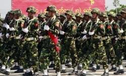 Tentara Myanmar (Ilustrasi)