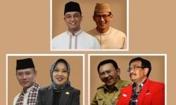 Tiga pasangan cagub dan cawagub di Pilgub DKI Jakarta 2017
