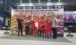 Timnas basket putri Indonesia U-18 juara 3x3 Asia.