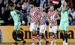 Timnas Kroasia melawan Portugal