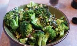 Tumis dari sayur brokoli.