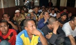 Wajah para TKI ilegal yang dideportasi dari Malaysia (ilustrasi).