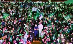Wanita Saudi Rayakan Hari Perempuan dengan Gerak Jalan 3c7623f889