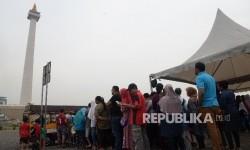 Kawasan Monumen Nasional (Monas) di Jakarta