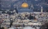 Dome of the Rock in Al Aqsa compound, Jerusalem, Palestine.