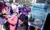In Picture: FSDK Gelar Aksi Gerakan Menutup Aurat