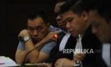 Andi Putra Kurniawan menjalani sidang lanjutan dengan agenda pemeriksaan saksi Eks Dirjen Perhubungan Laut Antonius Tonny Budiono  di Pengadilan Tindak Pidana Korupsi, Jakarta, Senin (18/12).