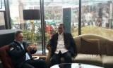 Deddy Mizwar dan Ketua Umum PAN, Zulkifli Hasan menggelar pertemuan di Hotel Trans  membahas Pilgub Jabar, Kamis (4/1).