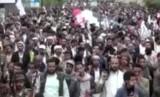 Aksi demonstrasi massa di Yaman