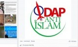 Akun facebook Komunitas Anti Islam