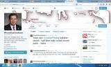 Akun Twitter Fahri Hamzah yang sedang beradu mulut dengan Indra J Piliang