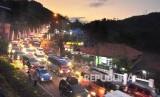 Kemacetan di Jalur Selatan (ilustrasi)