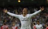Bintang Real Madrid Cristiano Ronaldo.