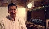 CEO and Founder Badan Wakaf Alquran (BWA) Heru Binawan.