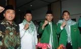 DPW PPP DKI Jakarta menggelar Musyawarah Kerja Wilayah (Mukerwil) II di Hotel Kaiasar, Duren Tiga, Jakarta Selatan, Sabtu (21/4).