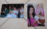 Foto kenangan Mayang sebelum dioperasi transgender dan sesudah menjadi perempuan.