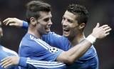 Gareth Bale dan Cristiano Ronaldo.