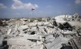 Gaza yang porak poranda akibat serangan Israel