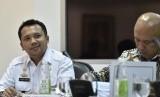 Gubernur Provinsi Lampung Muhammad Ridho Ficardo (kiri)