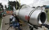 Hibah pesawat MiG-17.