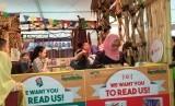 Jakbook merupakan ajang meningkatkan minat dan budaya baca masyarakat.