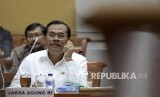The Attorney General Muhammad Prasetyo at the hearing process with Commission III of the Indonesian House of Representatives (DPR RI), in Jakarta on Tuesday.