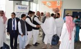 Jamaah haji Pakistan tiba di Bandara Jeddah (Ilustrasi)