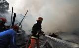 Kebakaran. Ilustrasi