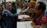 Ketua Umum PP Muhammadiyah Din Syamsuddin di Makassar, Rabu (5/8).