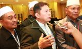 Komisioner Komisi Pengawas Haji Indonesia Bidang Pengawasan Kesehatan Abidinsyah Siregar di Madinah, Rabu (13/9).