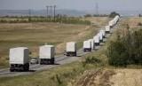 Konvoi bantuan kemanusiaan Rusia.