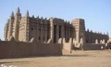 Masjid Djenne, Mali, Afrika